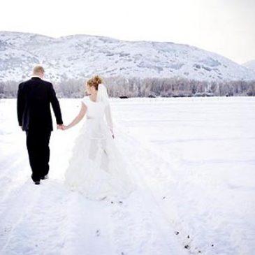 Mariage en hiver : animation