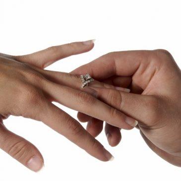 Fiançailles des jeunes mariés
