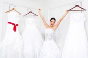 rentrer dans sa robe de mariage