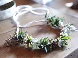 tradition couronne de fleur