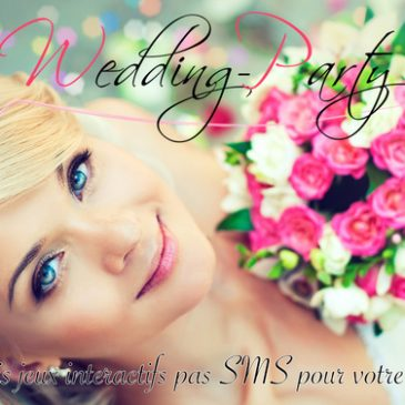 Wedding party, jeu de mariage 2.0, sur BFM TV