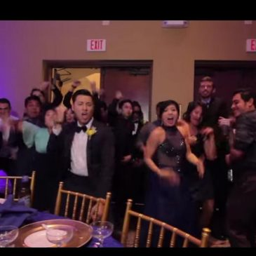 Une incroyable vidéo de mariage