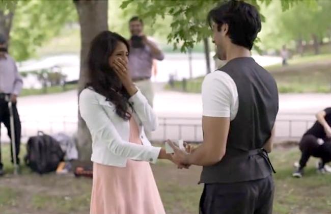 demande mariage romantique Fahad Aalia