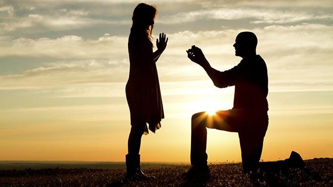 jeu de mariage demande de mariage original