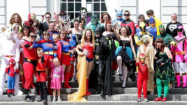 mariage en mode super héros