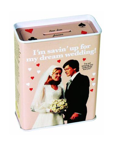 cadeaux pour futurs couples tirelire