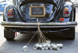 jeux pour mariage - voiture de mariage