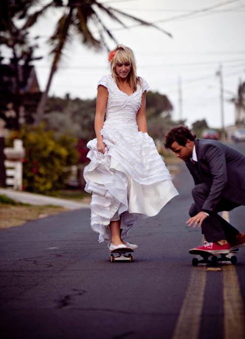 skateboard mariage