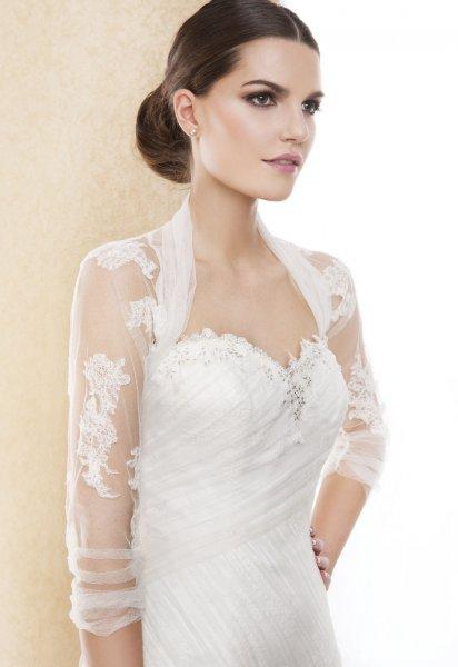 boléro robe de mariée hiver
