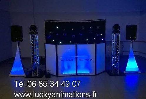DJ lucky animation