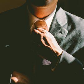 un homme d'affaire